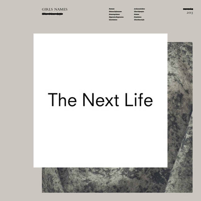 Girls Names / The Next Life