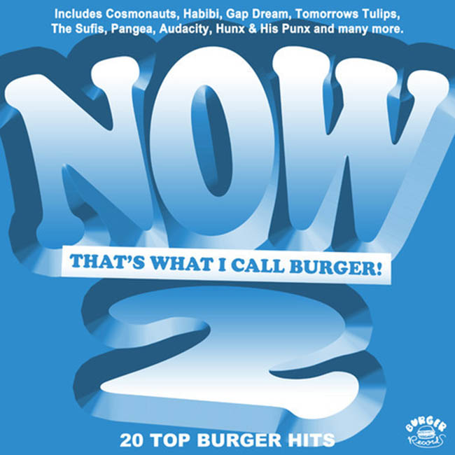 Le volume 2 de la compile Burger Records